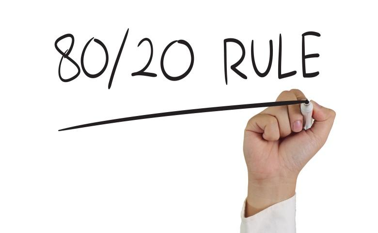 Pareto Principle 80 20 Rule